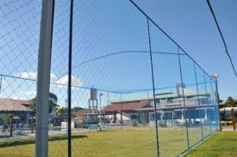Fábrica de Redes de Proteção para Quadras Esportivas em SP Vila Sabará - Rede de Proteção para Campo de Futebol