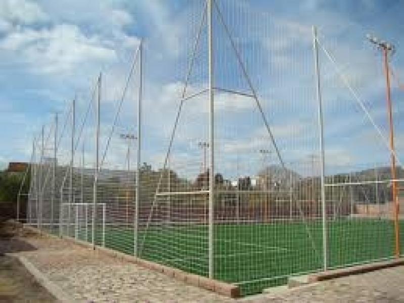Fábrica de Redes de Proteção para Quadras Esportivas no Jardim Bom Clima - Rede de Proteção para Campo de Futebol