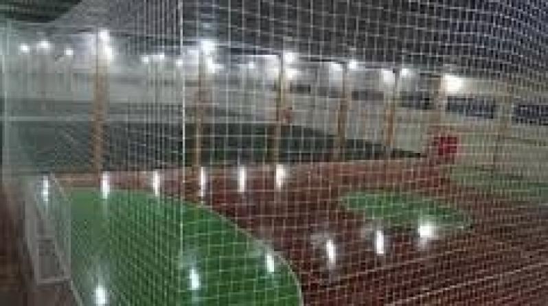 Onde Encontrar Rede de Proteção para Campo de Futebol no Jardim das Rosas - Rede para Cobertura de Quadra