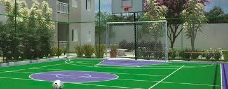 Onde Encontrar Rede para Cobertura de Quadra ABC - Rede de Proteção para Campo de Futebol