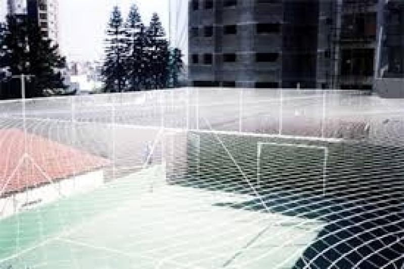 Onde Encontrar Tela de Proteção para Quadra de Futebol Vila Cruzeiro do Sul - Tela de Proteção para Quadra de Futsal