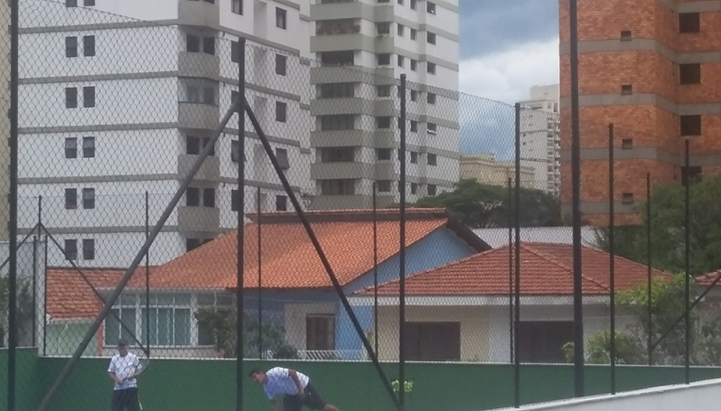 Quanto Custa Redes de Proteção para Quadras Esportivas no Jardim Bonfiglioli - Rede para Cobertura de Campo Society