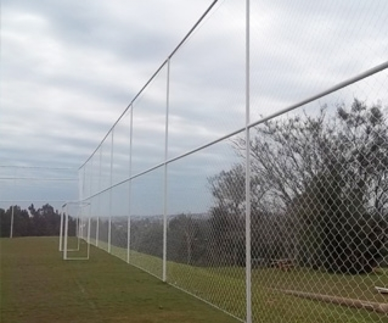 Quanto Custa Tela de Proteção para Campo de Futebol na Vila Parque Jabaquara - Tela de Proteção para Quadra de Tênis