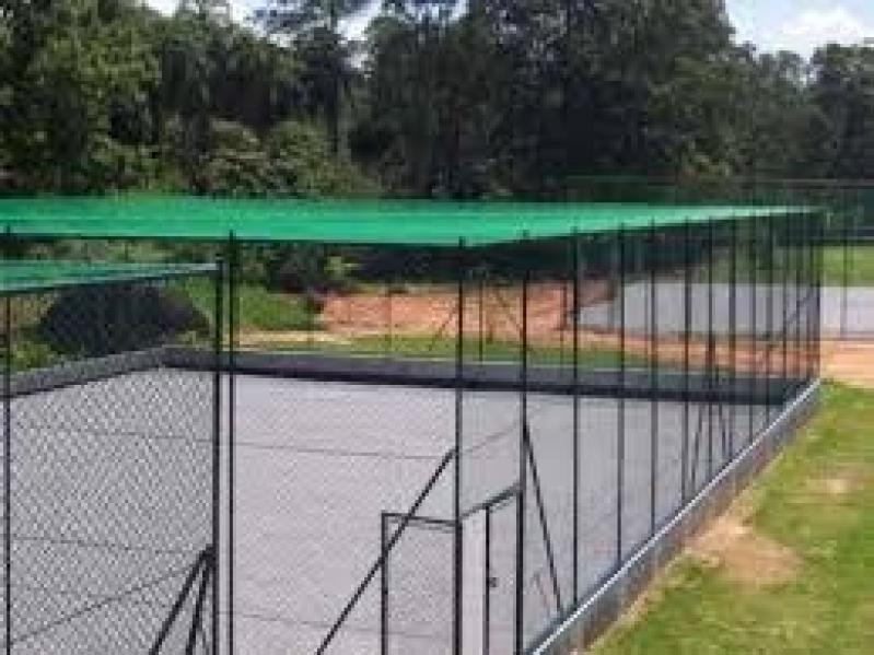 Quanto Custa Tela de Proteção para Quadra de Futebol em Jaçanã - Tela de Proteção para Quadra de Futsal