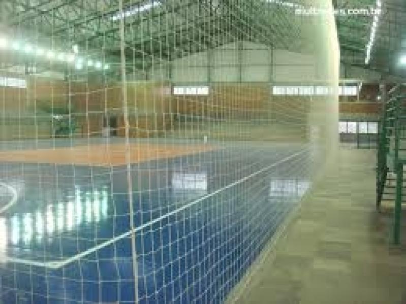 Quanto Custa Tela de Proteção para Quadras em SP na Vila Guilherme - Tela de Proteção para Quadra de Futsal