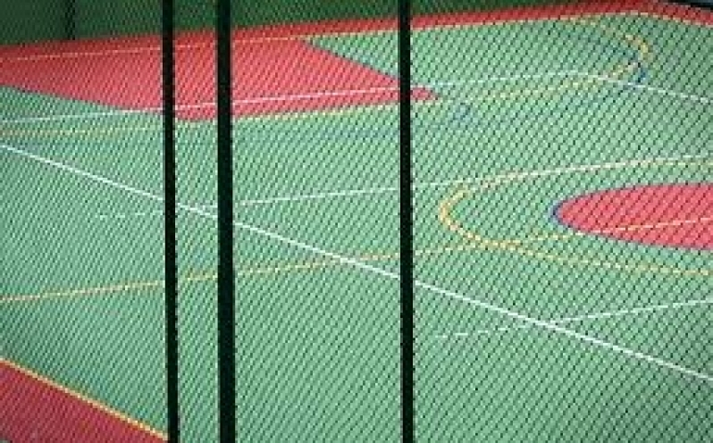 Quanto Custa Telas de Proteção para Quadra Poliesportiva na Cidade Domitila - Tela de Proteção para Quadra de Futebol