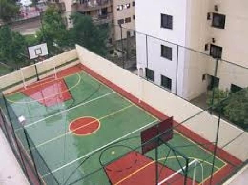 Rede de Proteção para Campo de Futebol Portal do Morumbi - Rede para Cobertura de Campo Society