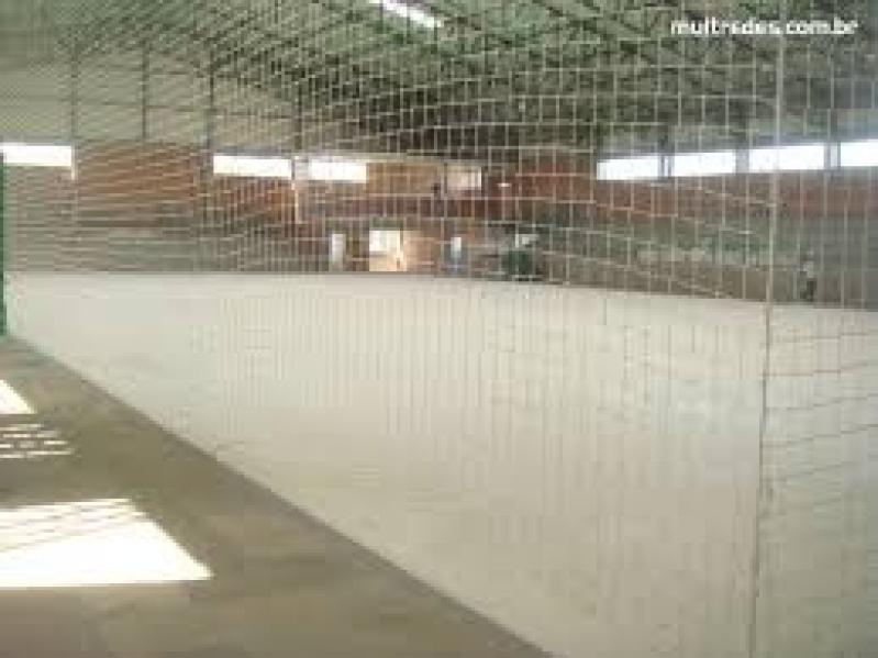 Rede de Proteção para Quadra de Esportes Preço no Jardim das Rosas - Rede para Cobertura de Quadra