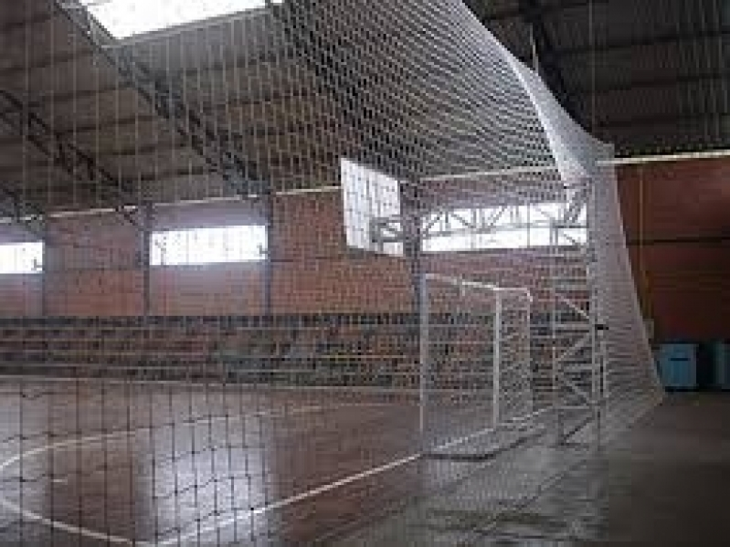 Rede de Proteção para Quadras em SP no Campo Belo - Rede de Proteção para Campo de Futebol