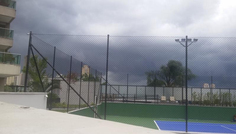 Rede de Proteção para Quadras Esportivas no Piqueri - Rede para Cobertura de Campo Society