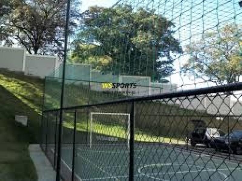 Rede para Cobertura de Campo Society na Vila Madalena - Rede de Proteção para Campo de Futebol