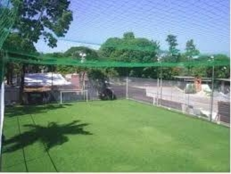 Redes de Proteção para Campo de Futebol no Jardim Lourdes - Rede para Cobertura de Quadra