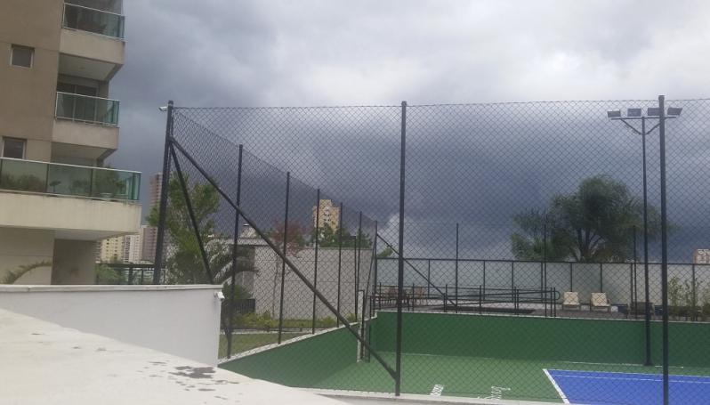 Redes de Proteção para Quadras Poliesportivas Preço no Parque da Mooca - Rede para Cobertura de Campo Society