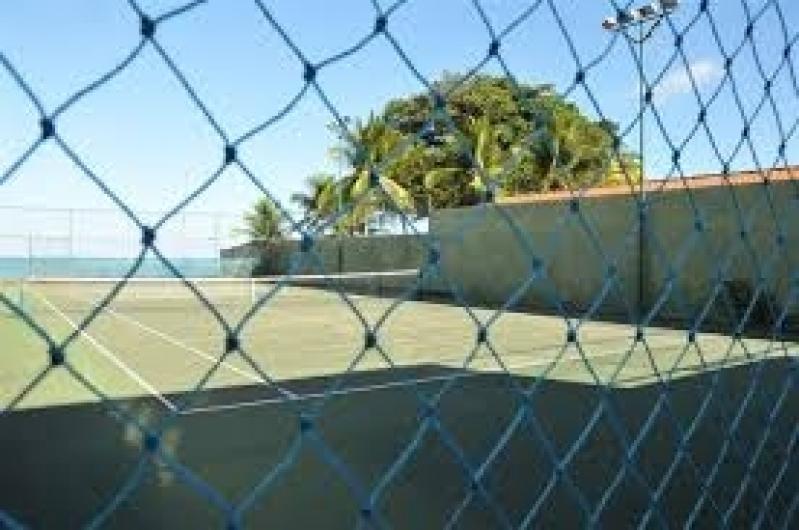 Tela de Proteção para Campo de Futebol em Sapopemba - Tela de Proteção para Quadra de Tênis