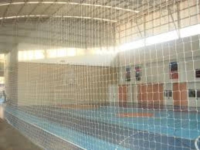 Tela de Proteção para Quadra de Futebol Preço no Jardim Jabaquara - Tela de Proteção para Quadra Esportiva