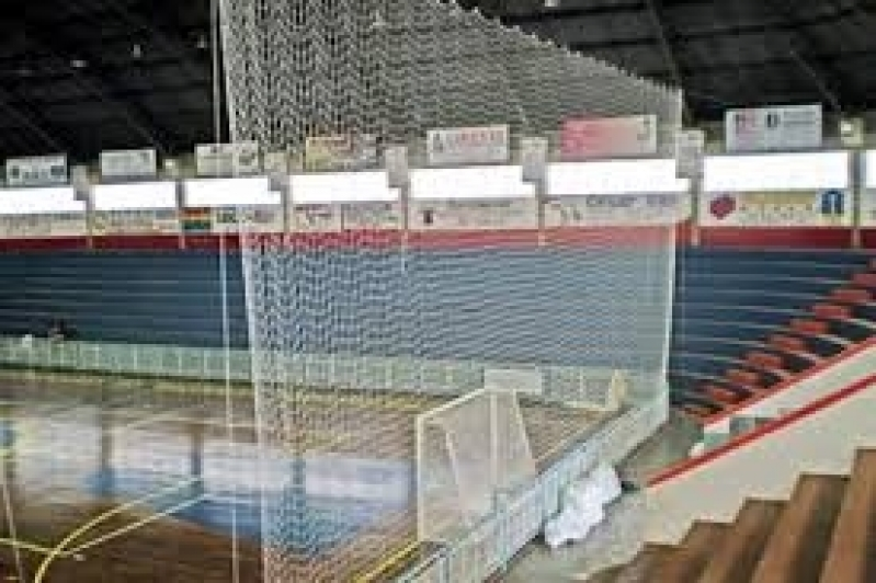 Tela de Proteção para Quadra de Futebol no Jardim Lusitânia - Tela de Proteção para Quadra de Futebol
