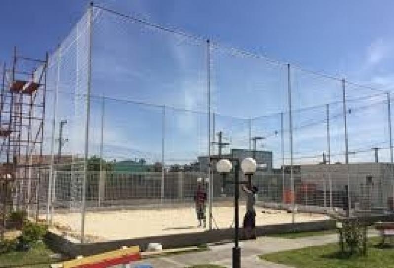 Tela de Proteção para Quadra de Tênis Preço em Perdizes - Tela de Nylon para Quadra