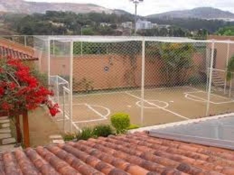 Tela de Proteção para Quadra de Tênis Jardim Costa Pereira - Tela de Proteção para Quadra de Futebol