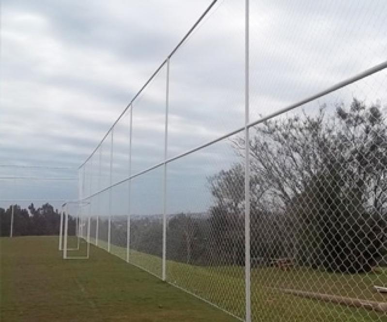 Tela de Proteção para Quadra Poliesportiva em Raposo Tavares - Tela de Proteção para Quadra de Futebol