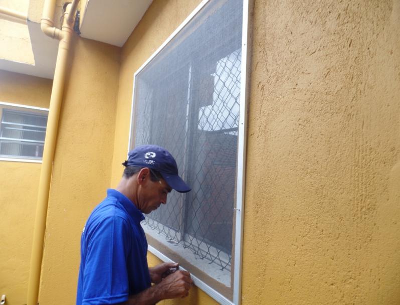 Tela Mosquiteiro para Janela em Ribeirão Pires - Tela Mosquiteiro com Velcro