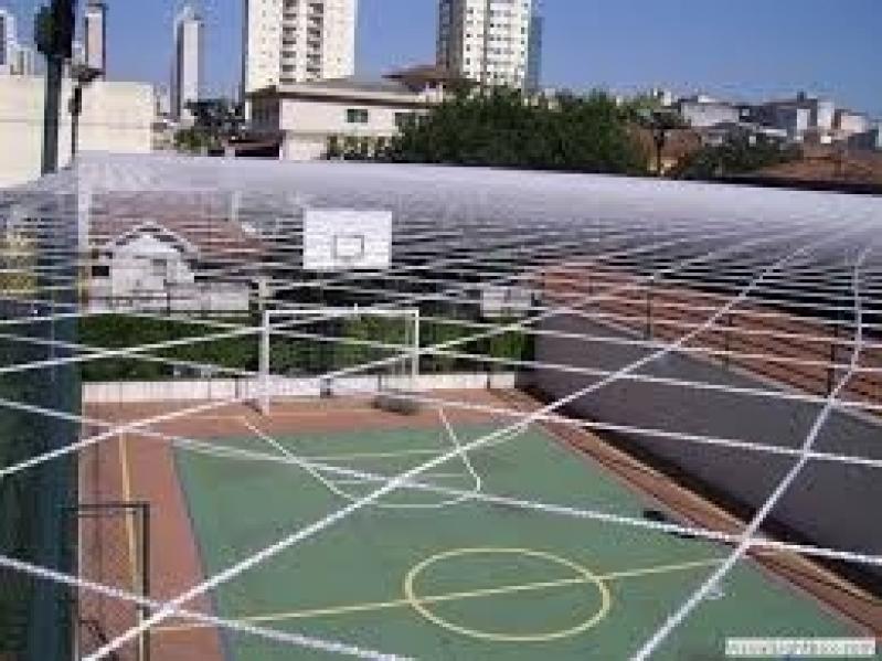 Telas de Proteção para Quadra de Futsal em Embu Guaçú - Tela de Nylon para Quadra