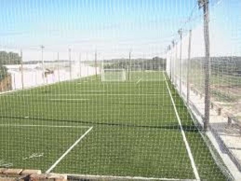Telas de Proteção para Quadra Esportiva em Cerqueira César - Tela de Proteção para Quadra de Futsal