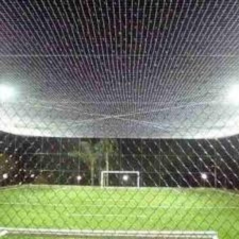 Telas de Proteção para Quadra no Jardim Paulistano - Tela de Proteção para Quadra de Futebol