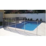 cerca removível para piscina valor Vila Clara