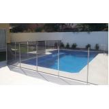 cerca removível piscina valor Vila Maria