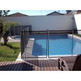 cercas para piscina tipo removível Jardim Mendes Gaia