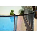 cerca de proteção removível para piscina
