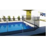 cerca de segurança removível para piscina