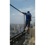 distribuidor de rede de proteção para terraços Jardim Clélia