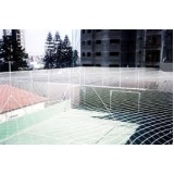 onde encontrar tela de proteção para quadra de futebol na Higienópolis