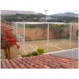 onde encontrar telas para quadras de esportes no Ibirapuera
