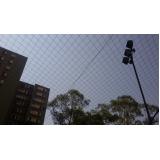 quanto custa rede para quadra esportiva no Jardim Mendes Gaia