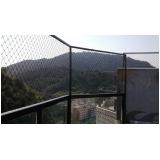 quanto custa tela de proteção para escadas no Parque do Carmo