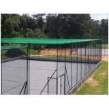 quanto custa tela de proteção para quadra de futebol na Higienópolis