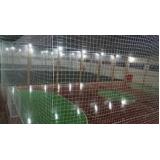 quanto custa tela de proteção para quadra de futsal no Jardim Novo Mundo