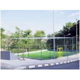 quanto custa tela de proteção para quadra de tênis no Jardim Lusitânia