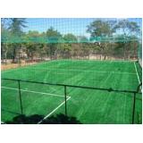 rede de proteção para campo de futebol preço em Juquitiba