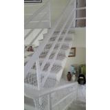 rede de proteção para escada Marginal Pinheiros