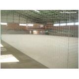 rede de proteção para quadra de esportes preço Vila Sabará