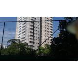 rede de proteção para quadra de futebol na Vila Imperial
