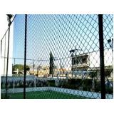 rede de proteção para quadra de futsal preço na Penha