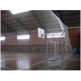 rede de proteção para quadras em SP na Vila da Saúde