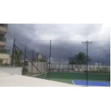 rede de proteção para quadras esportivas na Vila Mazzei