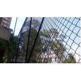 rede para quadra esportiva no Parque São Jorge