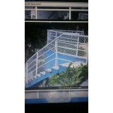 redes de proteção para escada na Vila Mira