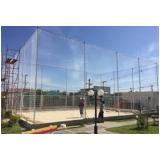 redes de proteção para quadra de futsal em Alphaville